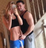 Chloe Madeley poses topless with halfnaked boyfriend Danny Young