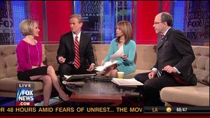 Dana Perino's Wickedly Hot Legs on FOX and Friends