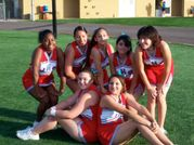 JHS Cheerleaders at the JohnstonAkins Game, Sept 2007