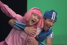 can see lazy town teaching boys the latest rape tactics
