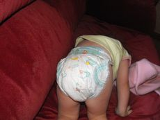 look backwards diaper Image