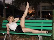 Elise Erotic In Pantyhose: A Night In The Park