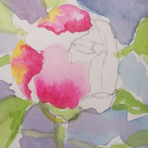 Let's Paint a Peony Flower! | Let's Paint Nature!
