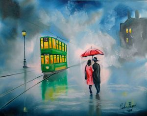 My rainy day paintings on eBay