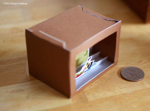 Mini Vignettes Paper Models By Oliver Bizer Mini