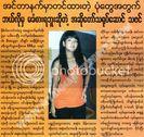 Myanmar Popular Singer & Actor Thazin: Caught on Tape