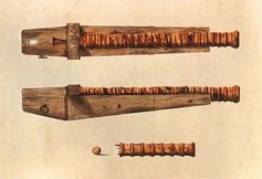 shotgun designed to kill massed enemies with a barrage of musket balls