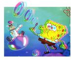Spongebob Squarepants & Sandy Cheeks 3D Conversion  2 Photo by