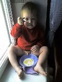 baby peeing photo: Baby Peeing in Cereal 5bd7 jpg