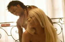 Stars Nicki Minaj and Lil' Wayne team up for a hot love scene in Nicki