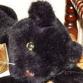 Hermann Original Black Panther 1982 Plush Retired Steiff Gund Ganz