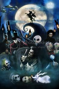 Larger Tim Burton Films Graphics Code | Larger Tim Burton Films