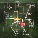 suivre la direction du ran du chabrier jusqu au paintball plan d acces