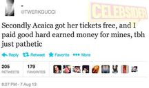 Did Acacia really kick a Directioner out of 1D concert?