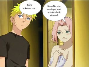 Naruto Sees Sakura Naked Image, Graphic, Picture, Photo - Free