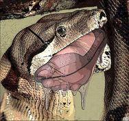 Mutant Snake Vore Image