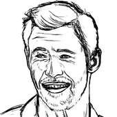 Linework: Chris Hemsworth   Ian D. Wade