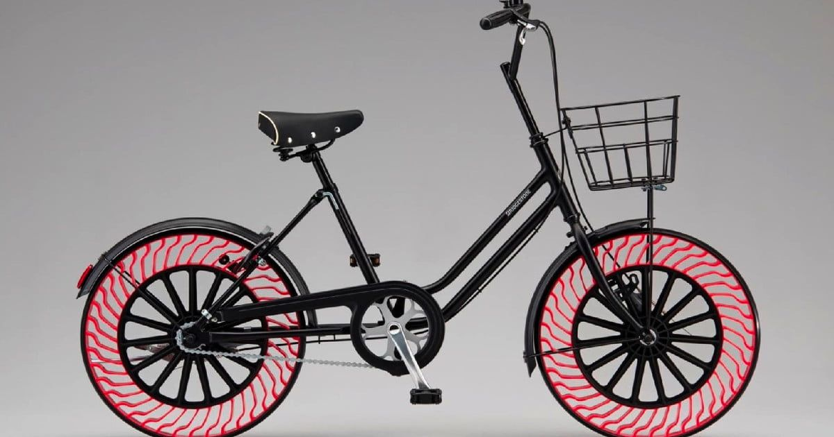Air Free Concept bike tires will never go flat, never get a puncture