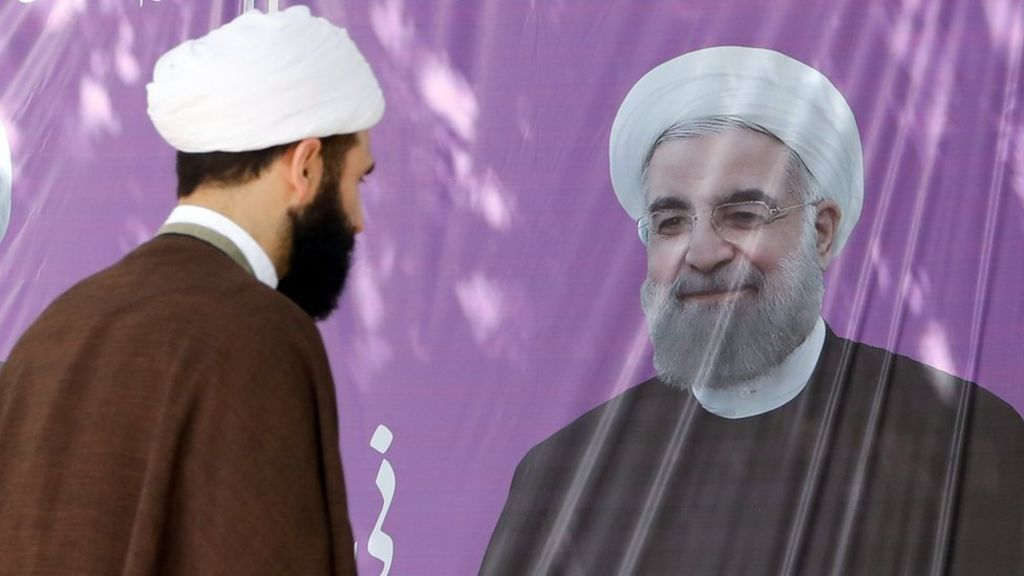 Iran election: Hassan Rouhani wins second term as president - BBC News