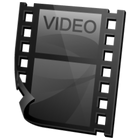 Video Clip Icon | Simple Iconset | Harwen