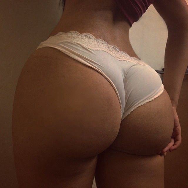 Her ass is consuming this underwear