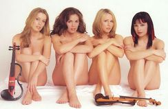grin and bare it the bond quartet s nude album cover was never