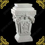 Stone Base, Natural Marble Pedestal (GSP034)  large image for Base