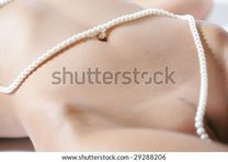Naked Female Body Pearl Jewelry Stock Photo 29288206 : Shutterstock