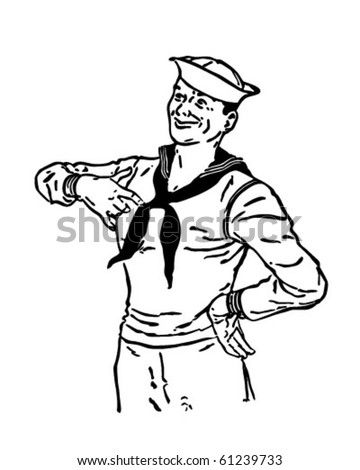 Sailor Sailor Anal In Stocks