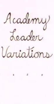 Academy Leader Variations