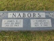 "James Edward ""Jim"" Nabors (1893  1963)  Find A Grave Memorial"