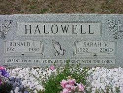 Ronald LeRoy Halowell (1921 -  from www findagrave com