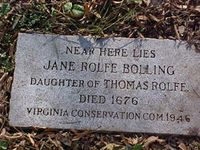 Major John Fairfax Bolling (January 27, 1676 to April 20, 1729) was a