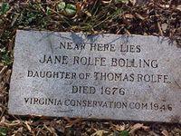 Major John Fairfax Bolling (January 27, 1676 to April 20, 1729) was a