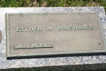 Esther May Brushaber (1917  2010)  Find A Grave Memorial