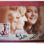 Deborah REVY - Actrice - Signé   Autographe   Hand Signed   Dédicace