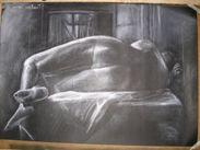 blanco y negro desnudo. faustino torre rodriguez  Artelista.com