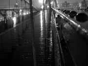 Brooklyn Bridge  Freezing Rain  Valentine's Day  by thatannemarie