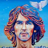 George Harrison Painting By Debbie Diamond - George Harrison Fine