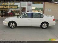 2003 Chevrolet Malibu LS Sedan in Summit White. Click to see large