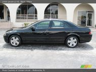 2006 Lincoln LS V8 in Black. Click to see large photo.