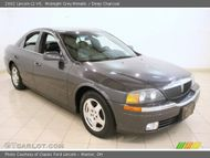 2002 Lincoln LS V6 in Midnight Grey Metallic. Click to see large photo