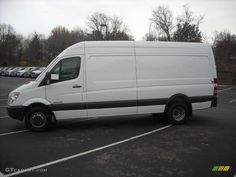 2008 Sprinter Van 3500 High Roof 170 Cargo  Arctic White / Gray photo
