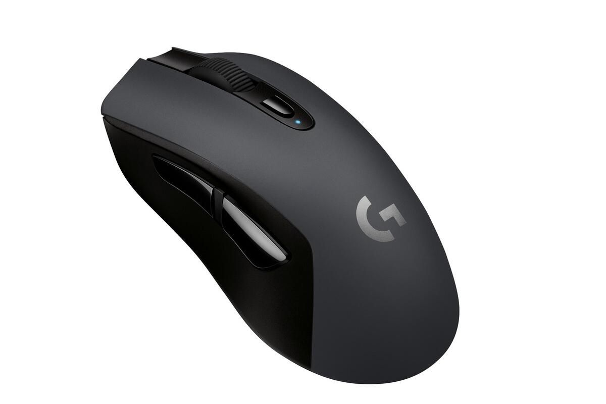 Logitech's HERO sensor makes the G603 wireless mouse both powerful and wildly long-lasting