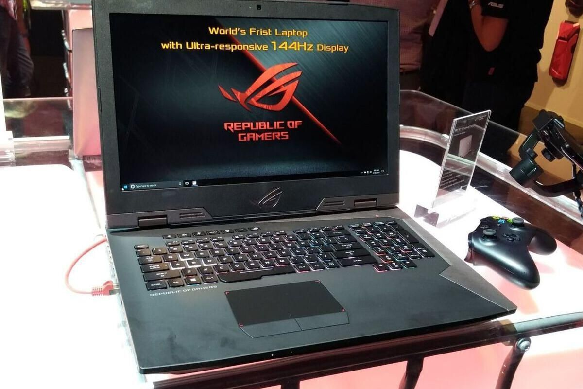 The Asus ROG Chimera brings blisteringly fast 144Hz G-Sync displays to gaming laptops