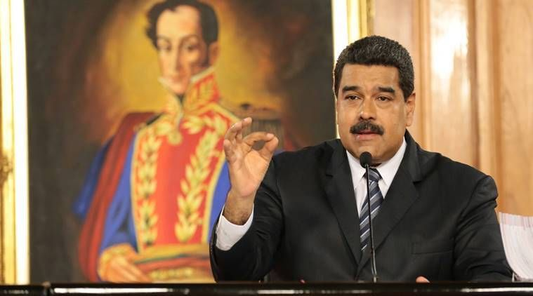 Venezuelan president Nicolas Maduro compares treatment of officials abroad to Nazi persecution
