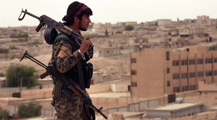 Syrian army sweeps across Islamic State held territory south of Raqqa