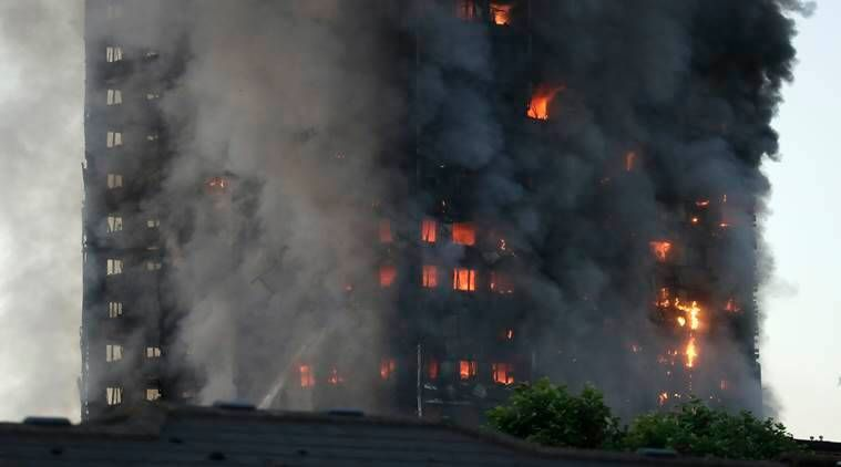 London fire: Latest videos, pics as Grenfell Tower goes up in flames