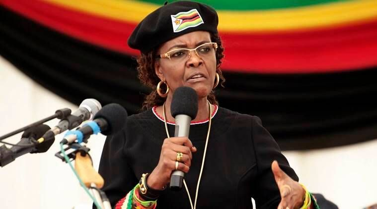 'South Africa to grant Grace Mugabe diplomatic immunity'