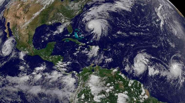 Strengthening Hurricane Maria a threat to Irma-hit Caribbean